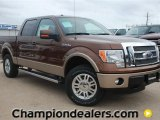 2012 Golden Bronze Metallic Ford F150 Lariat SuperCrew 4x4 #58664218