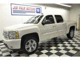 2012 Summit White Chevrolet Silverado 1500 LTZ Crew Cab 4x4 #58664424