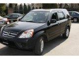 2006 Nighthawk Black Pearl Honda CR-V EX 4WD #5840358