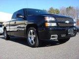 2004 Black Chevrolet Silverado 1500 SS Extended Cab AWD #58664210