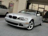 2005 Silver Grey Metallic BMW 3 Series 325i Convertible #58664296