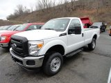 2012 Ford F250 Super Duty XL Regular Cab 4x4 Front 3/4 View