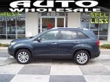 2011 Pacific Blue Kia Sorento LX V6 #58664352