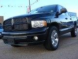 2005 Black Dodge Ram 1500 Sport Quad Cab #58664249