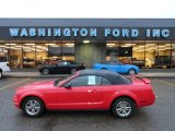 2005 Torch Red Ford Mustang V6 Premium Convertible #58664344
