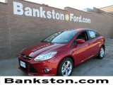 2012 Red Candy Metallic Ford Focus SE Sport Sedan #58684023
