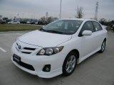 2011 Super White Toyota Corolla S #58684231