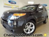 2011 Tuxedo Black Metallic Ford Explorer Limited #58684225