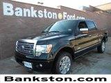 2011 Ebony Black Ford F150 Platinum SuperCrew 4x4 #58683978