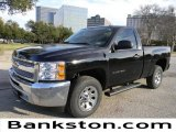 2012 Black Chevrolet Silverado 1500 LS Regular Cab #58683964