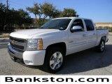 2011 Summit White Chevrolet Silverado 1500 LT Crew Cab #58683948