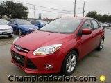 2012 Red Candy Metallic Ford Focus SE Sport Sedan #58684082
