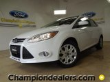 2012 Oxford White Ford Focus SE Sedan #58684195