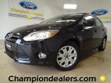 2012 Tuxedo Black Metallic Ford Focus SE Sedan #58684194