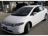 2007 Taffeta White Honda Civic LX Sedan #5840256