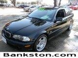2001 Jet Black BMW 3 Series 330i Coupe #58683916