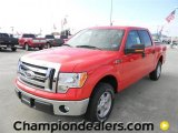 2011 Race Red Ford F150 XLT SuperCrew #58684057