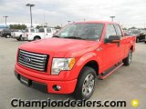 2011 Race Red Ford F150 XLT SuperCab #58684056