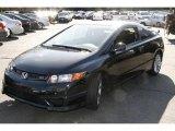 2007 Nighthawk Black Pearl Honda Civic Si Coupe #5840248