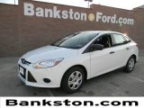 2012 Oxford White Ford Focus S Sedan #58684030