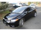 2007 Nighthawk Black Pearl Honda Civic Si Coupe #5840249