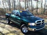 2003 Timberline Green Pearl Dodge Ram 1500 SLT Quad Cab 4x4 #58701011