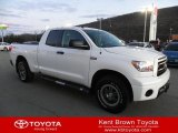 2011 Super White Toyota Tundra TRD Rock Warrior Double Cab 4x4 #58700991