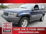2002 Patriot Blue Pearlcoat Jeep Grand Cherokee Laredo #58700985