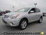 2012 Brilliant Silver Nissan Rogue SV #58700700