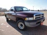 2001 Dark Garnet Red Pearl Dodge Ram 1500 ST Regular Cab #58700689