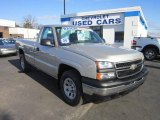 2006 Silver Birch Metallic Chevrolet Silverado 1500 Work Truck Regular Cab 4x4 #58700680