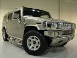 Pewter Metallic Hummer H2 in 2003