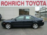2008 Dark Blue Ink Metallic Ford Fusion SE V6 AWD #58725115
