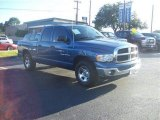 2005 Atlantic Blue Pearl Dodge Ram 1500 SLT Quad Cab #58724675