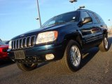 2002 Patriot Blue Pearlcoat Jeep Grand Cherokee Limited 4x4 #58724659