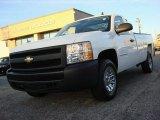 2008 Summit White Chevrolet Silverado 1500 Work Truck Regular Cab #58724654
