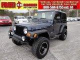 2006 Midnight Blue Pearl Jeep Wrangler Rubicon 4x4 #58724983