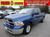 2011 Deep Water Blue Pearl Dodge Ram 1500 SLT Quad Cab #58724976