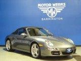 2008 Meteor Grey Metallic Porsche 911 Carrera S Cabriolet #58724607