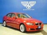 2009 Crimson Red BMW 3 Series 328xi Sedan #58724600