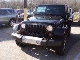 2012 Black Jeep Wrangler Sahara 4x4 #58724959