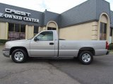 2004 Silver Birch Metallic Chevrolet Silverado 1500 LS Regular Cab #58724895