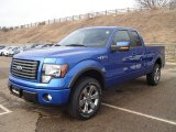 2011 Blue Flame Metallic Ford F150 FX4 SuperCab 4x4 #58724524