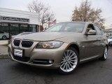 2009 Platinum Bronze Metallic BMW 3 Series 335xi Sedan #58782545