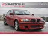 2005 Electric Red BMW 3 Series 330i Sedan #58783258