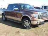 2011 Golden Bronze Metallic Ford F150 Lariat SuperCrew 4x4 #58782529