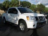 2007 White Nissan Titan SE Crew Cab #58783203