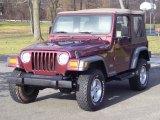 2001 Jeep Wrangler Sienna Pearl
