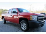 2011 Victory Red Chevrolet Silverado 1500 Extended Cab #58782799