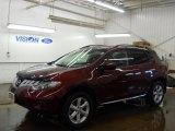 2009 Merlot Metallic Nissan Murano S AWD #58783141